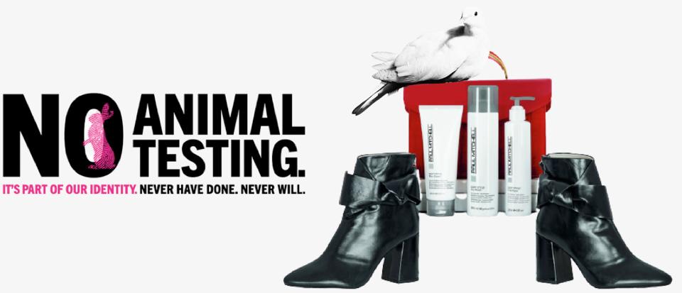 Paul Mitchell ikke testet på dyr. Soft Style stylings produkter