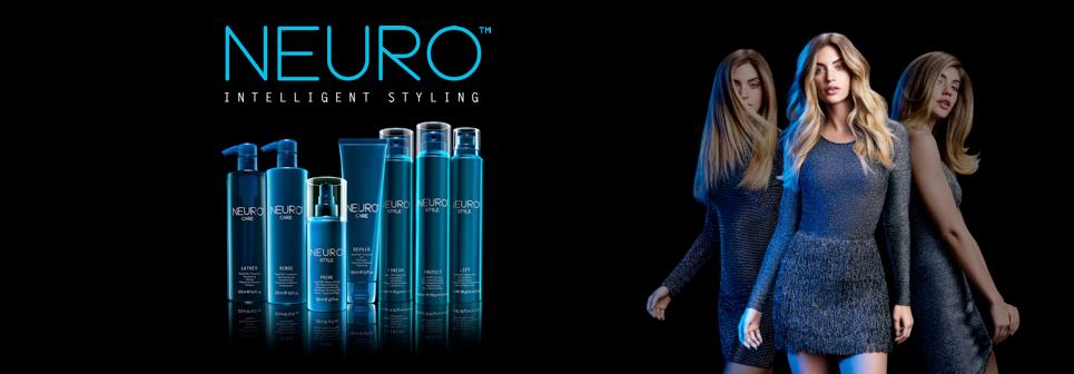 Neuro produkter. En komplet hårserie med Heatcrtl.